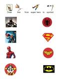 Superhero Match