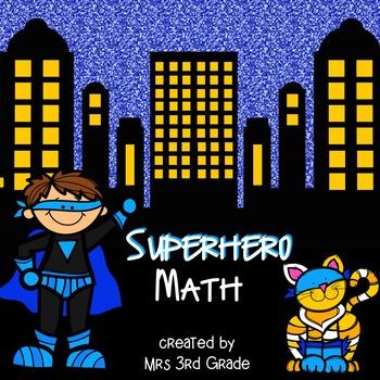 Superhero Math