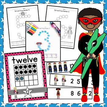 Superhero Math Bundle!