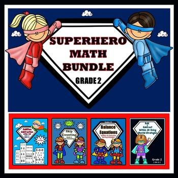 Superhero Addition and Subtraction, Bundled for Savings!