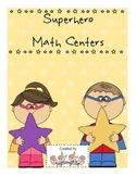 Superhero Math Centers-Grade 1