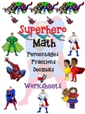Back to School-Fractions, Decimals & Percents