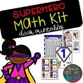 Superhero Math Kit (Decor Printables)