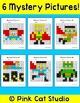 Superhero Hundreds Chart Math Mystery Pictures - Fun Math Centers & Morning Work