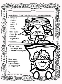 Superhero Math for the Common Core Classroom-No Prep