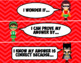 Superhero Math Talk Discussion Stems