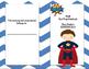 Superhero Math Test Prep Study Guide (New & improved)