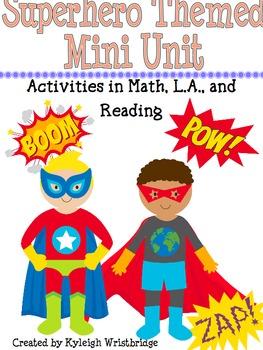 Superhero Math and L.A. Unit