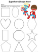 Superhero Math and Literacy Pack - Preschool and Kindergarten