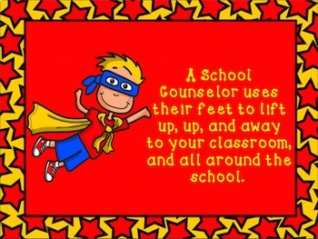 Superhero Meet the School Counselor Introduction Guidance Orientation Lesson