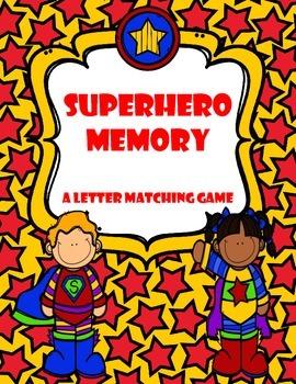 Superhero Memory