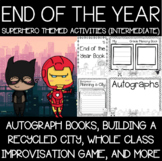 Superhero Memory Books, STEAM, and End of the Year Activities {Intermediate}