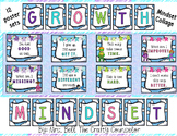 Superhero Mindset Posters (Fixed and Growth Statements Pos