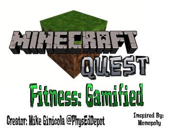 PE Superhero & Minecraft Quest Fitness Monopoly Bundle