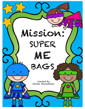 Superhero Mission: Super Me Bags