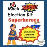 Superhero Mock Election Kit