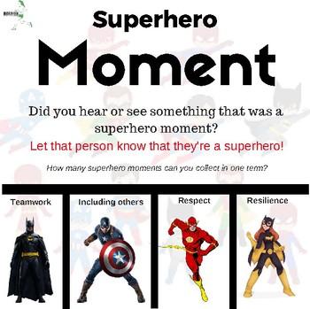 Superhero Moments