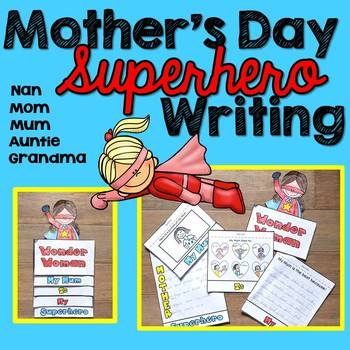 Mother's Day Writing (Wonder Woman)