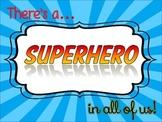 Superhero Motivational Desk or Wall Art