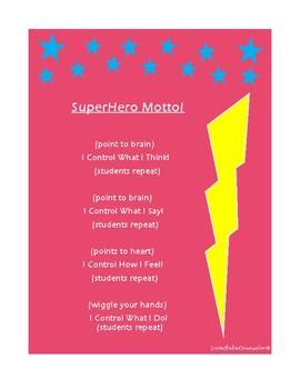 Superhero Motto