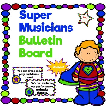 Superhero Music Bulletin Board