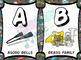 Superhero Musical Alphabet (Small)