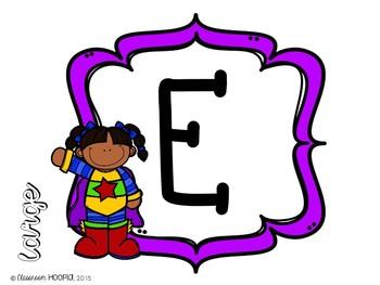 Superhero NOISE Letters