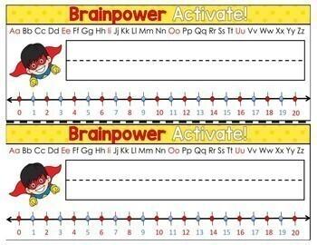 Superhero Classroom Decor: Name Tags (Growth Mindset)