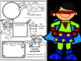 Back to School All About Me Superhero Activity Booklet