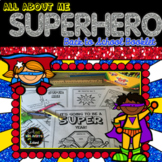 All About Me Superhero Theme Booklet