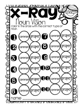 Superhero Noun Freebie {Common & Proper Noun Sort}