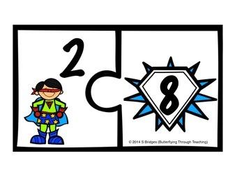 Superhero Number Bonds