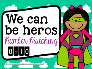 Superhero Number Matching