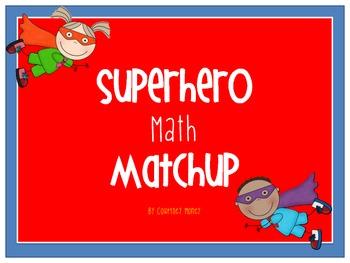 Superhero Number Matchup