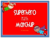 Superhero Number Matchup
