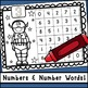 Superhero Number & Number Word Recognition Practice Sheets