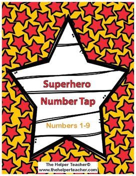 Superhero Number Tap