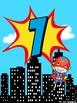 Superhero Numbers 1-20 Posters