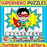 Number Sense Sequencing Puzzles and Letters Puzzles - Supe
