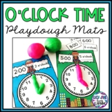 Superhero O'clock Time Playdough Mats