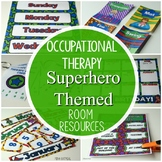Superhero Occupational Therapy Room Resources Pack