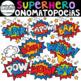 Superhero Onomatopoeia Clip Art {Superhero Clip Art}