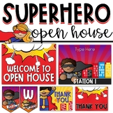 Superhero Open House Kit - Presentation and Forms