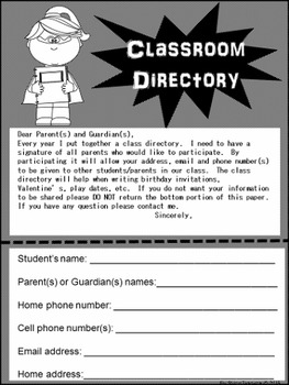Superhero Open House and Back to School Material (editable)