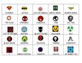 Superhero Origin Story Match