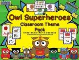 Superhero Owl Theme Pack