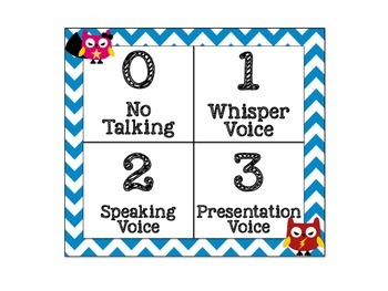 CHAMPS Behavioral Chart: Superhero Owl Themed
