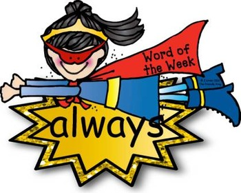 Superhero POWer Second Grade Word Wall