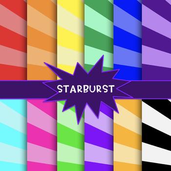 Superhero Paper {Starburst}
