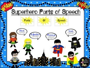 Parts of Speech: Superhero